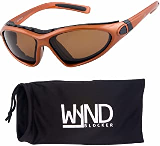 6d104b498b3 WYND Blocker Vert Motorcycle   Boating Sports Wrap Around Polarized  Sunglasses