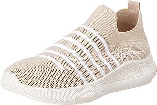 حذاء قماش سهل الارتداء بخطوط مختلفة اللون للنساء من كلوب الدو