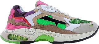 PREMIATA Luxury Fashion Mens SHARKY0044 Green Sneakers   Spring Summer 20