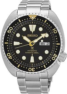 Men's Silvertone Automatic Diver Watch