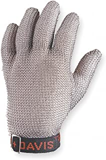 North by Honeywell A515M D Whiting + Davis A515 Stainless Steel Mesh Ambidextrous Glove (1 Glove)