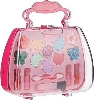 SKEIDO Princess Makeup Cosmetics Set Kids Safety Cosmetics Play Set Fashion Makeup Kit Pretend Play Toys Children Cosmetic...