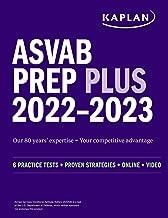 ASVAB Prep Plus 2022–2023: 6 Practice Tests + Proven Strategies + Online + Video (Kaplan Test Prep)