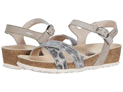 Mephisto Stela (Grey Savannah/Velcalf Print) Women