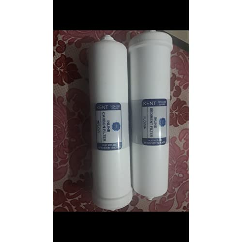 Kent 2000920010 Ro Spares: 100% Original Inline Sediment Filter & Pre Carbon Filter Set