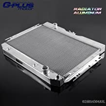 50mm 2 Row Core Aluminum Radiator For 1963-1968 Chevy BELAIR IMPALA/CHEVY CAPRICE 1966-1968 / CHEVY CHEVELLE EL CAMINO 1964-1967 / CHEVY BISCAYNE 1963-1968 High Capacity 1959 1960
