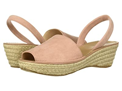 Kenneth Cole Reaction Fine Glass Espadrille (Rose Microsuede) Women
