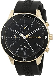 Lacoste Mens Quartz Watch, Chronograph Display and Silicone Strap 2010994