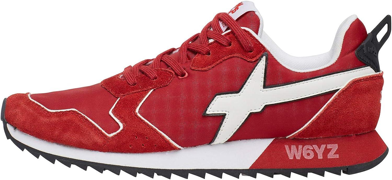 W6yz Jet-M.-Turnschuhe aus Leder und Nylon-Rot Weiß rot 41 41  Wählen Sie aus den neuesten Marken wie