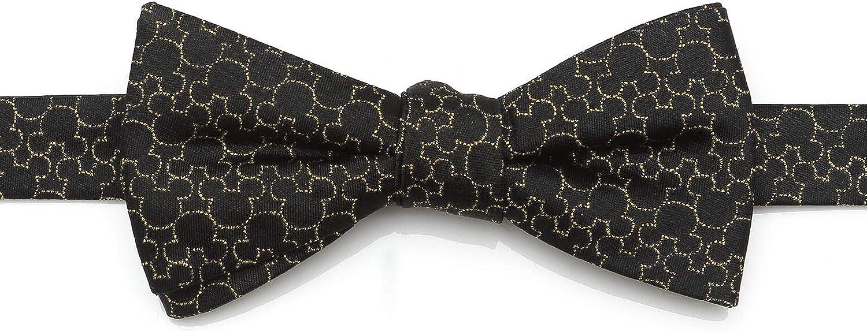 Mickey's 90th Anniversary Compact Silhouette Men's Bow Tie