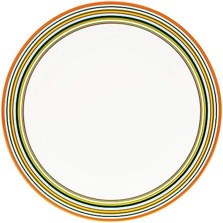 Preisvergleich für Iittala 201850 Teller Flach Origo 26 cm, orange
