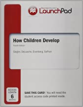 Launchpad for Siegler's How Children Develop, Six Month Access