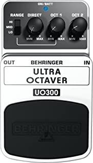 Behringer Ultra Octaver UO300Pedal de Efectos