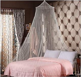 Mosquitera LXGKREL para cama doble, color blanco, mosquitera, mosquitera, mosquitera, para viajes y en casa