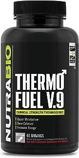 NutraBio ThermoFuel V9 for Men - 180 Capsules