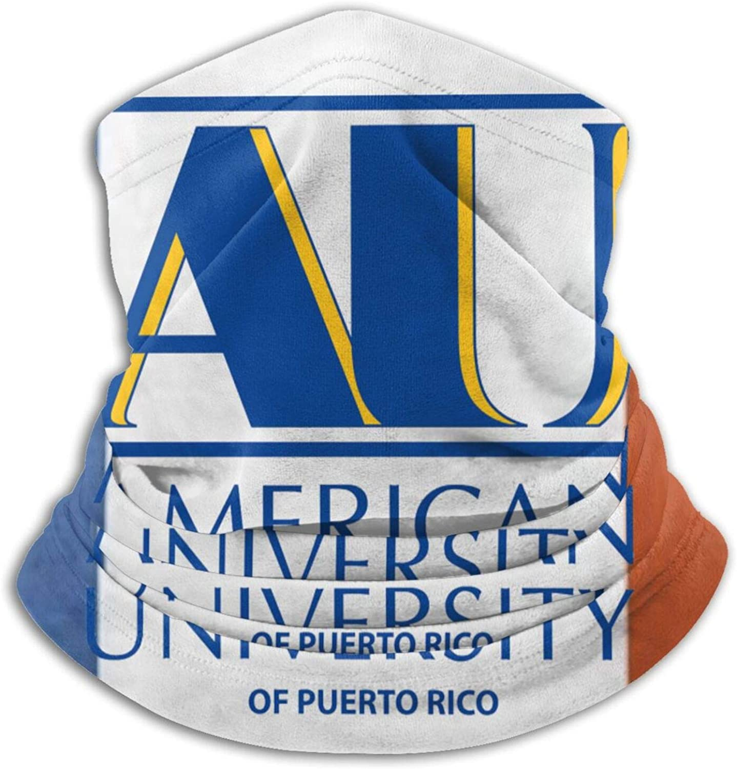 American A University Of Puerto Rico Unisex Comfort Microfiber Neck Gaiter Variety Scarf Face Motorcycle Cycling Riding Running Headbands.