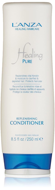 微生物アンペアヤギHealing Pure by L'Anza Replenishing Conditioner 250ml by L'anza