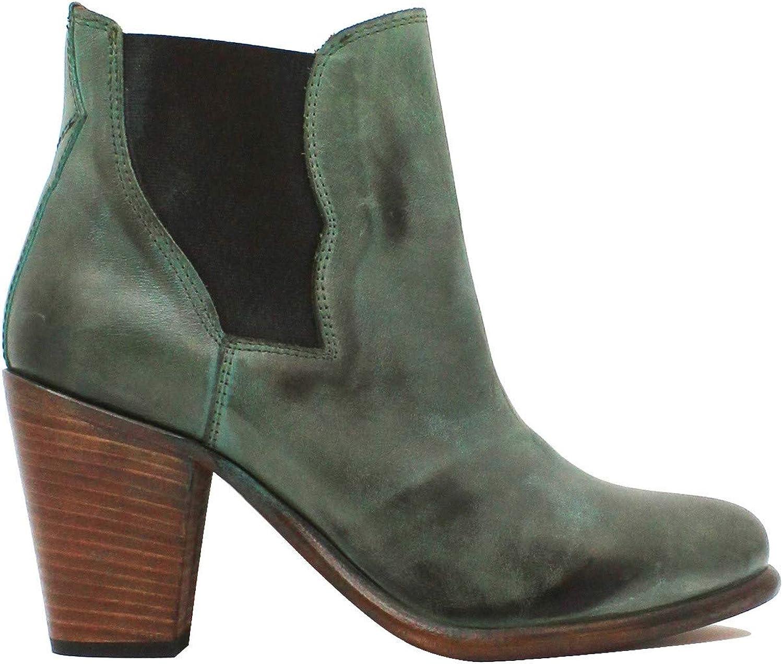 BUTTI, Damen Stiefel & Stiefeletten Grün grün
