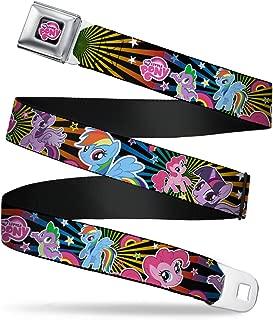 Buckle-Down Men's Seatbelt Belt My Little Pony Wmlp121