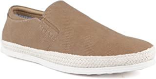 Mufti Brown Slip-on Shoes