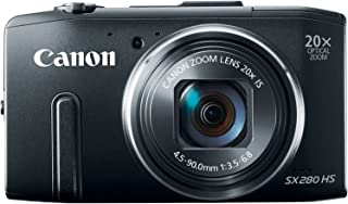 Canon PowerShot SX280 12.1MP Digital Camera with 20x Optical Image Stabilized Zoom with 3-Inch LCD (Black) (OLD MODEL)