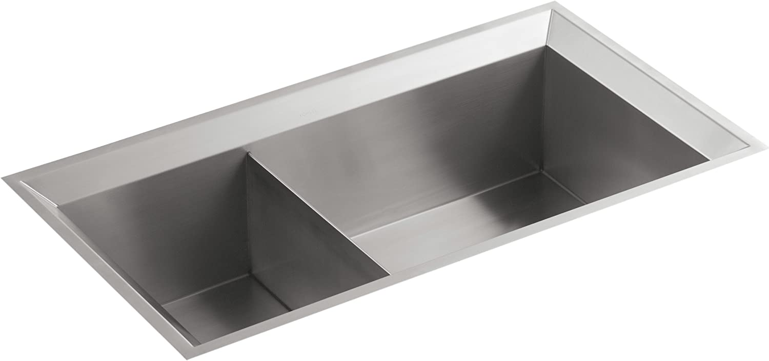 KOHLER K-3389-NA Poise 33-Inch X 18-Inch Double Ranking TOP20 Basin Sale Unequal