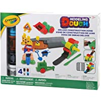 Crayola 24 Pieces Modeling Dough Deluxe Construction Zone Kit