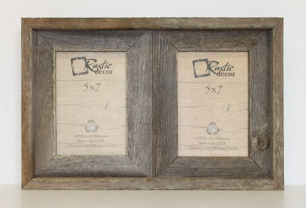 SHABBY ARCHITECTURAL Chic Salvaged Recycled Wood Photo Picture Frame 4 X 6 S 337-12