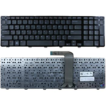 490.00H07.0D01 PK1313G2A00 V147225AS V147225AS1 US Layout Black Color New Laptop Keyboard Replacement for Dell PN