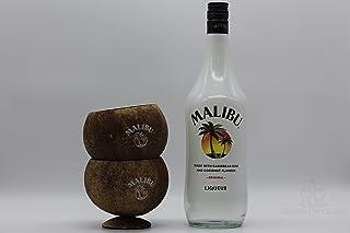Malibu Likör 1l 21% Vol. 33,90€/1l  2x Kokosbecher