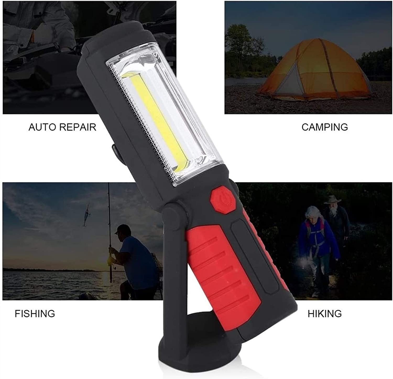 Size : 1pcs LXNQG Baladeuse Dinspection Lampe LED Rechargeable Magn/étique Lampe de Torches de LED Lampe Dinspection Lampe Lampe de Travail LED Rechargeable