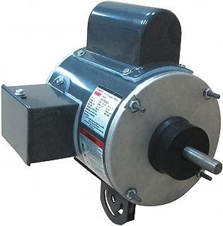 Dayton 1/2 HP Pedestal Fan Motor, Permanent Split Capacitor, 1100 Nameplate RPM,115 Voltage, Frame 48YZ