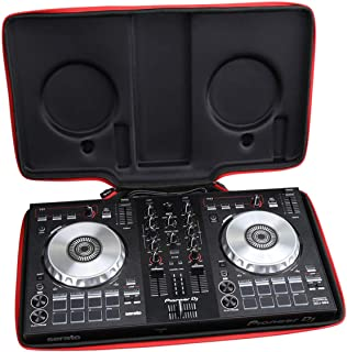 Aproca Hard Carry Travel Case Bag for Pioneer DJ DDJ-SB3 / DDJ-SB2 / DDJ-400 DJ Controller (Black-New Version)