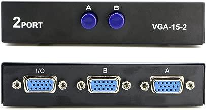 Best 2 port vga switch Reviews