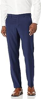 Perry Ellis Men's Portfolio Modern Fit Flat Front Bengaline Pant