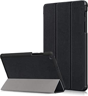 Case for Galaxy Tab A 8.0 Inch 2019 T290/T295/T297, Ultra Slim Lightweight Trifold Cover Stand Hard Shell Folio Case Compa...