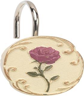 Carnation Home Fashions Primrose Shower Curtain Hooks (Set of 12) [Home]