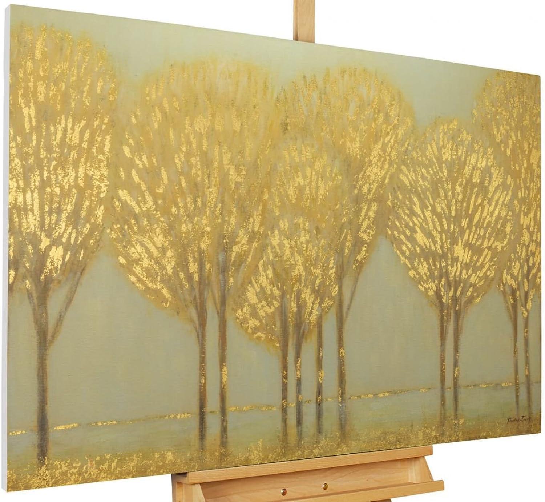 KunstLoft Acryl Gemälde \'Viertel vor Grün\' 120x80cm Original ...
