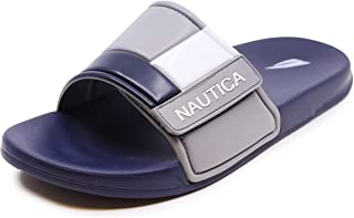 Nautica Men's Gantry Athletic Slide, Strap Comfort Sandal
