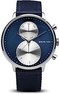 BERING Men's Chronograph Quartz Watch with Textile Strap 13242-507