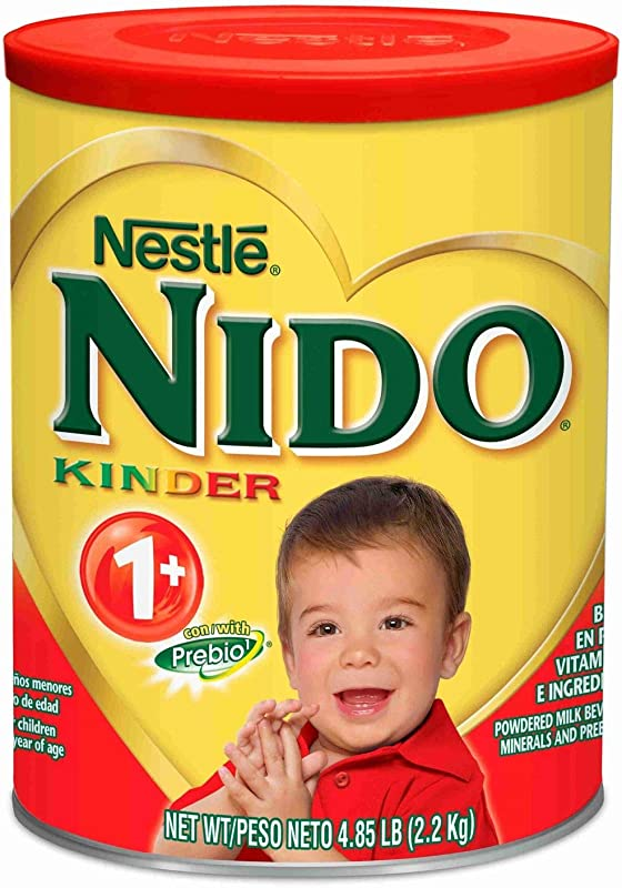 Nestle Nido Kinder 1 Toddler Formula 4 85 Lbs Pack Of 6