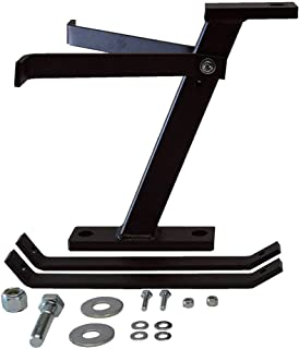 Great Day Lawn-Pro Hi-Hitch - Lawnmower Towing Hitch - Aluminum Construction - Black Powder-Coated Finish, LNPHH650