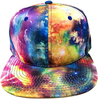 Tie Dye Galaxy All Over Print Snapback