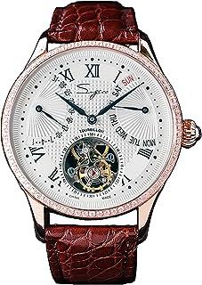 Sugess - SU8004GWD Tourbillon Master Seagull ST8004 Movimiento Zafiro Cristal 1963 Reloj mecánico para hombre