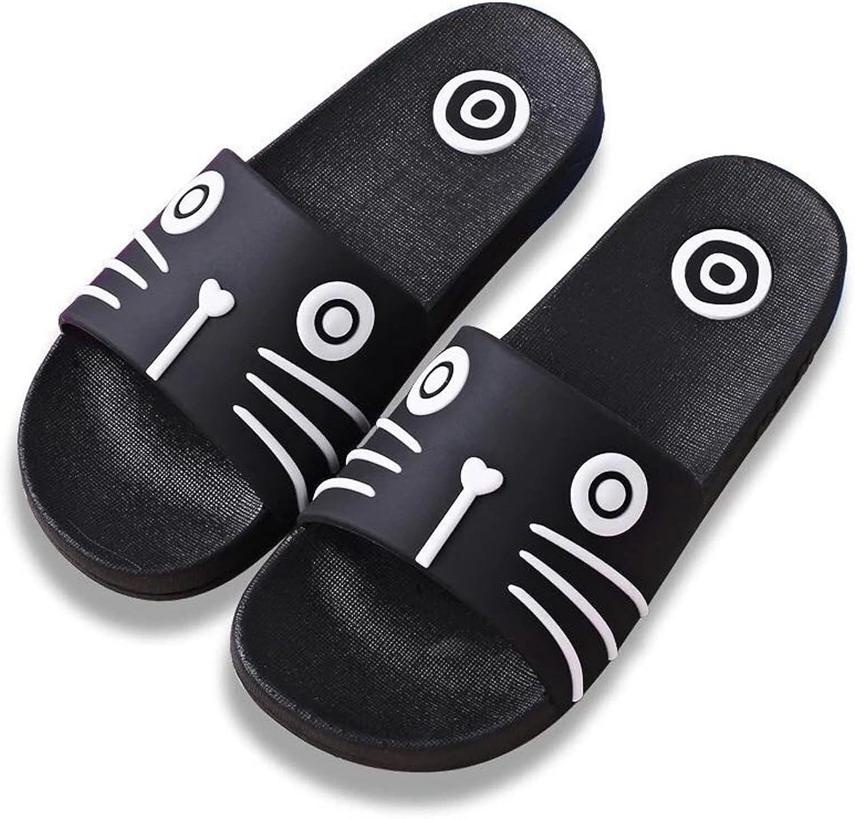 DKKK Women's Cute Animal Non-Slip Shower Sandals House Soft Sole Pool Slippers Bathroom Slide Water shoes