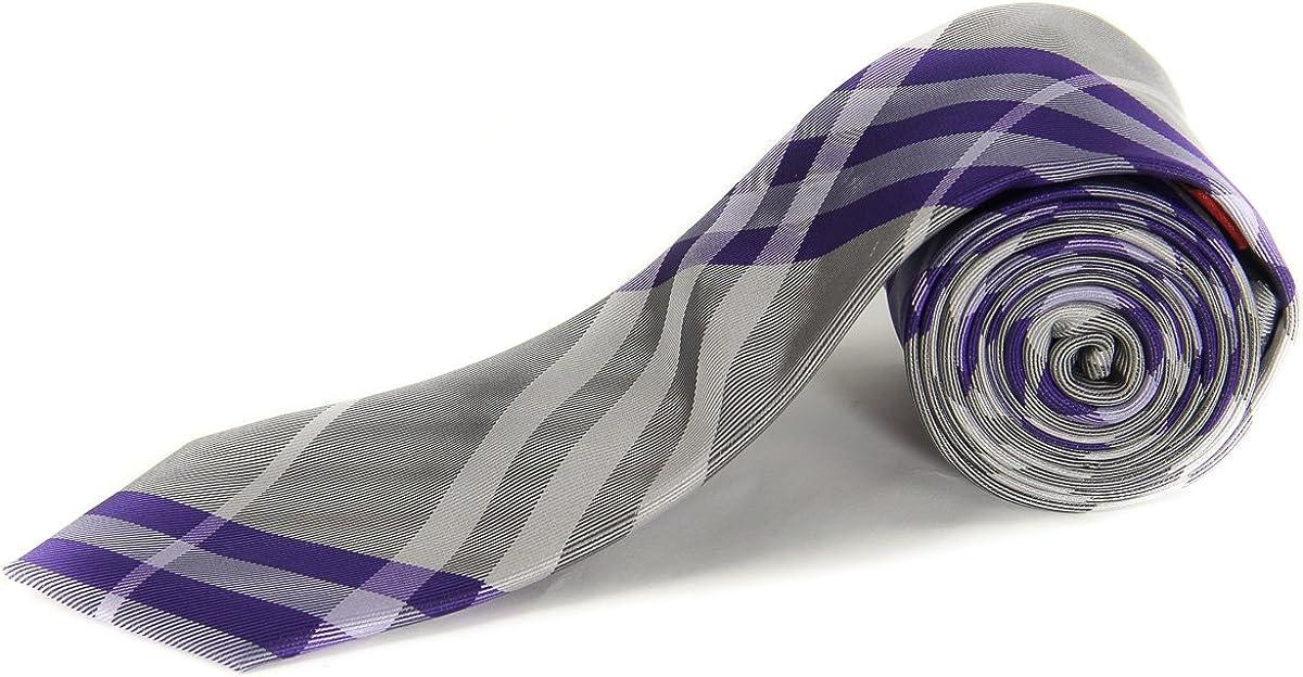 Alfani AR00110081 Men's Bling Stripe Neck Tie Purple / Multi