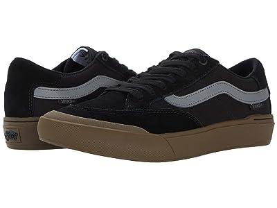 Vans Berle Pro (Black/Dark Gum) Skate Shoes