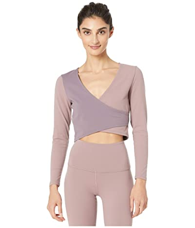 Beyond Yoga Graceland Wrap Supplex Top (Wild Orchid) Women