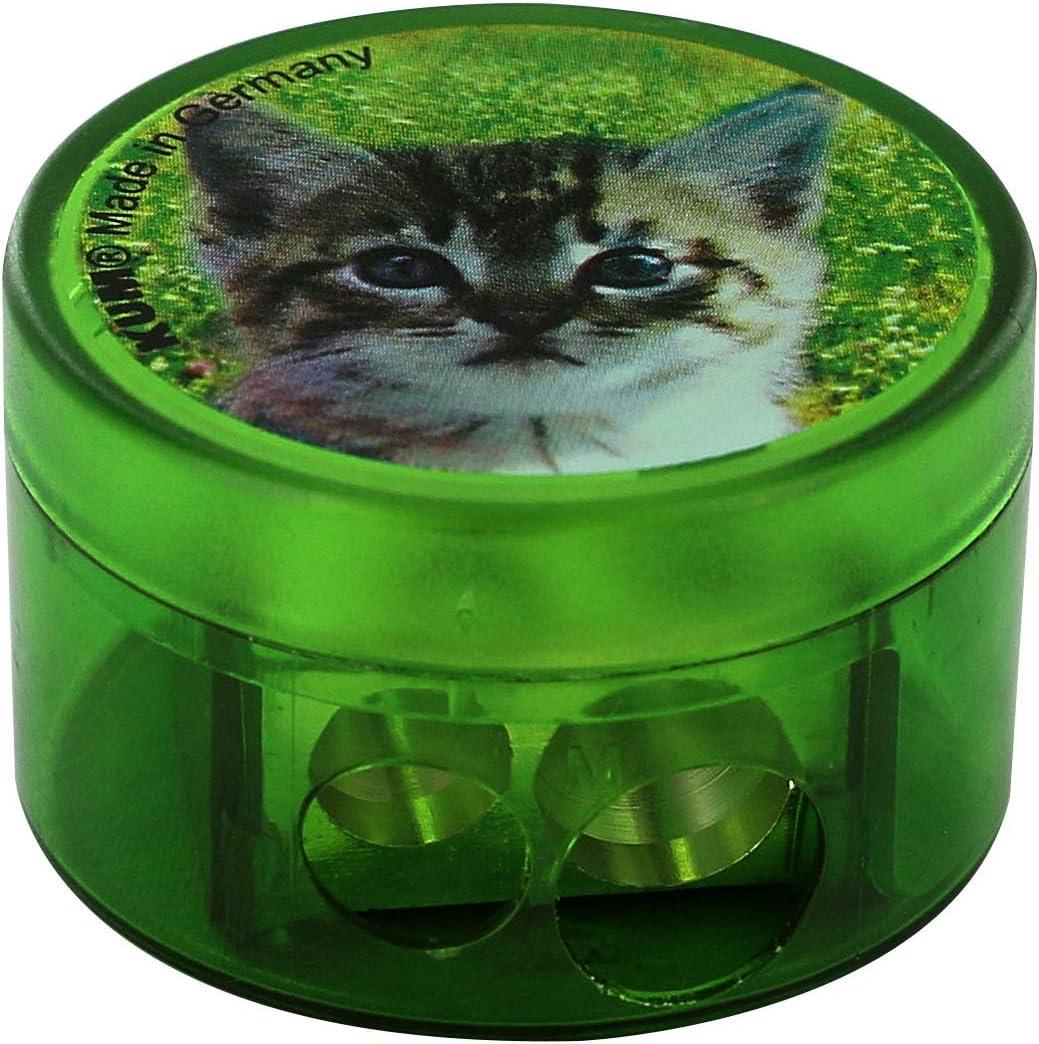 KUM 208M2 Magnesium Double New item At the price Container Sharpener Cat Design Animal