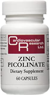 Cardiovascular Research Zinc Picolinate Capsules, 60 Count